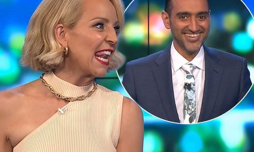 Carrie Bickmore berates Waleed Aly live on The Project