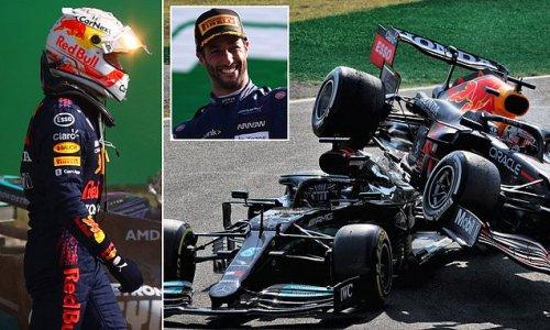 Ricciardo DEFENDS Verstappen for his role in crash with Hamilton