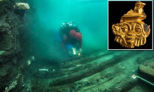 2,200 year-old shipwreck found in underwater city in Egypt