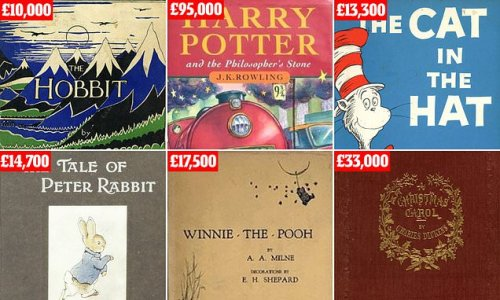 Experts reveal classic children's books could be worth thousands