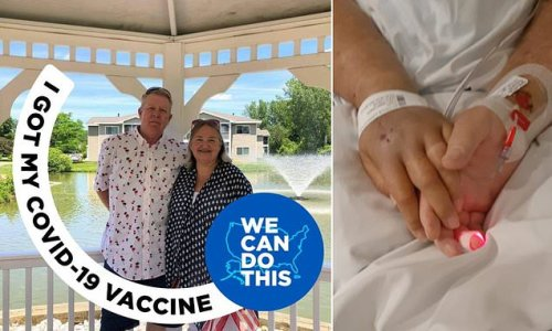 Fully-vaccinated Michigan couple die of COVID just one minute apart
