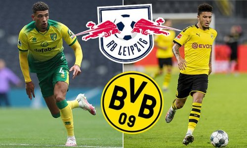 Dortmund and Leipzig 'target Norwich's Godfrey in stunning £25m move'