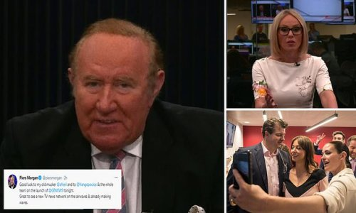 It's go for GB News! Andrew Neil welcomes viewers to new network