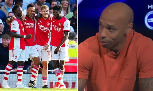 Henry 'not surprised' by Arsenal's performance against Tottenham