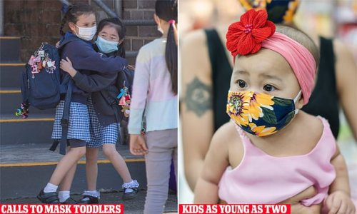 Bizarre call for TWO YEAR OLDs to wear masks