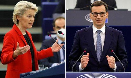 Polish PM lashes out at Ursula von der Leyen over EU 'blackmail'