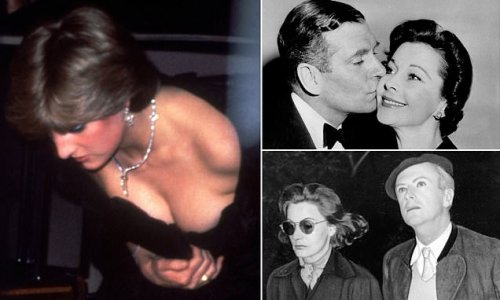 HUGO VICKERS: Diana's racy dress and more delicious gossip