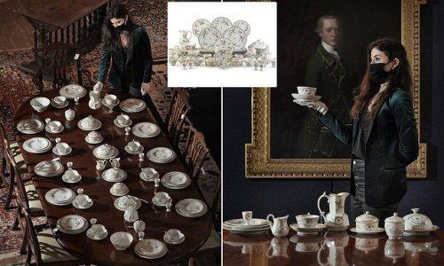 Queen Victoria's 300-piece breakfast service will go under the hammer