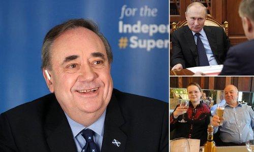 Fury as Russia Today host Alex Salmond defends Putin