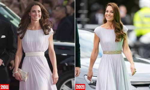 Kate Middleton recycles a dress from 2011 at Earthshot Prize