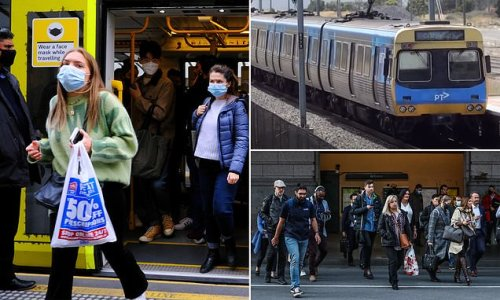 A busy train could be the missing link in Melbourne's Covid outbreak