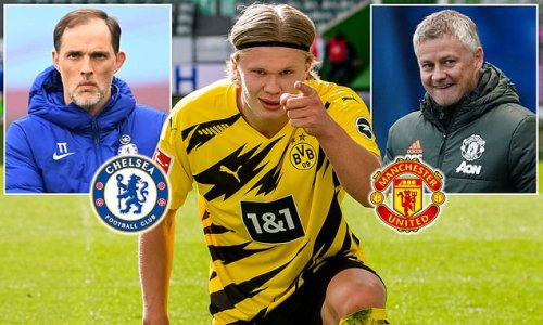 Erling Haaland 'will LEAVE Dortmund if they miss Champions League'