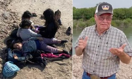 Texas farmer finds five hungry, crying migrant girls under age of 7