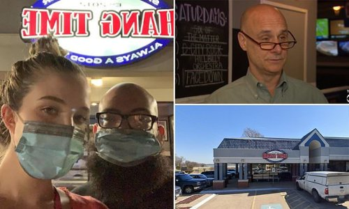 New parents wearing masks get kicked out of Texas restaurant