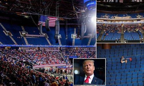 Trump declared rally 'f***ing mistake' after TikTok prank left seats