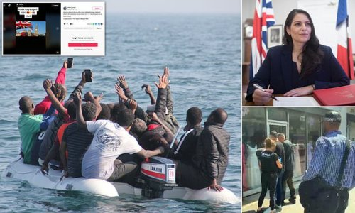 The TikTok ads that promise to get migrants to Britain for £20k