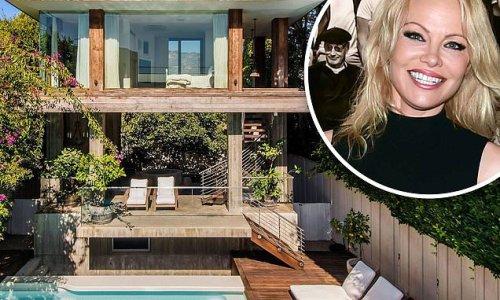 Pamela Anderson's massive $15M Malibu mansion is 'in escrow'