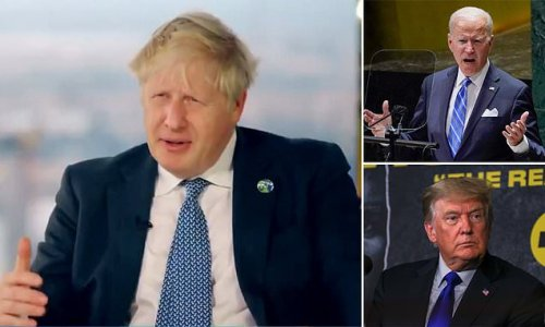 Boris Johnson takes swipe at Trump as he praises dealing with Biden