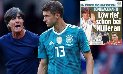 Thomas Muller 'will RETURN to the German national team for Euro 2020'