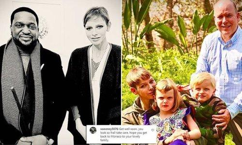 Princess Charlene of Monaco: Fans concerned over 'frail' look