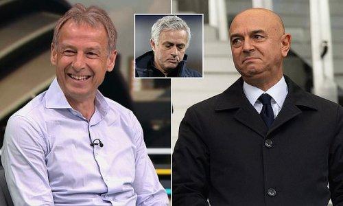 Tottenham legend Klinsmann says he wants to become the club's new boss