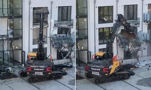 Builder causes £425k damage with digger 'as developer owed him £4.2m'
