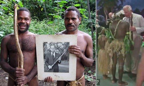 Vanuata tribe who worship Prince Philip as God