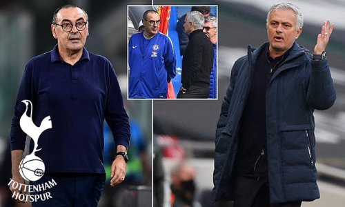 Tottenham 'would like to replace Jose Mourinho with Maurizio Sarri'