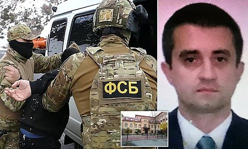 Russia detains Ukrainian consul and accuses him of being a 'spy'