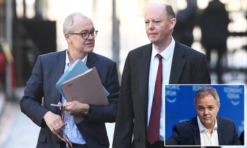 Chris Whitty 'clashed with Patrick Vallance' in early days of pandemic