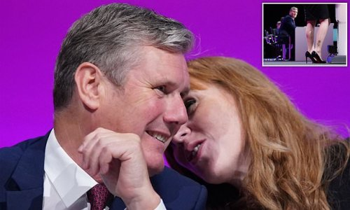Labour's Angela Rayner can barely conceal her ambition to be PM