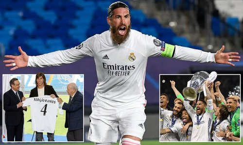 Real Madrid confirm Sergio Ramos WILL leave the club this summer