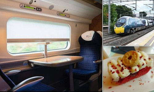 Reviewed: The new Avanti Pendolino first-class experience