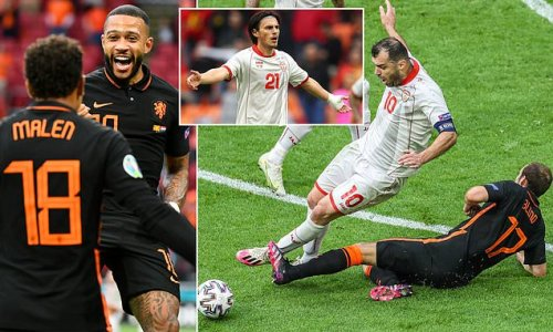 North Macedonia fume over controversial Netherlands goal