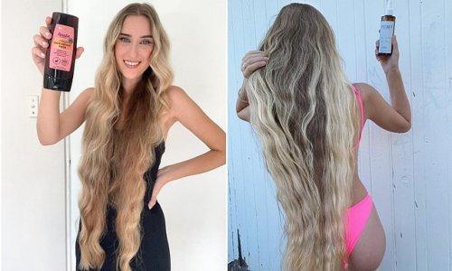 Woman dubbed Australian Rapunzel reveals secrets to healthy long hair
