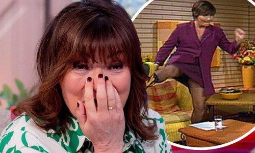 Lorraine Kelly recalls 'flashing the nation' when she met Spice Girls