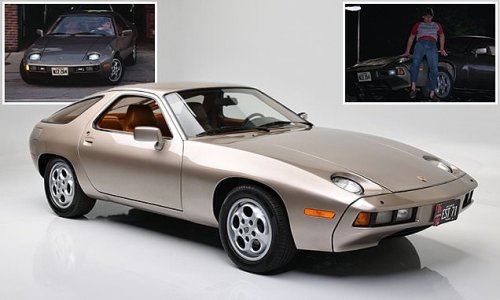 Risky bidding? Porsche 928 from Risky Business sells for record $1.98m