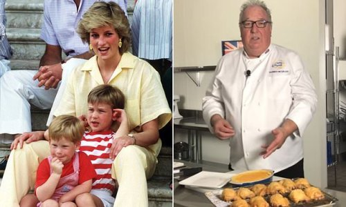Chef shared the recipe to William and Harry's favourite chicken pasta