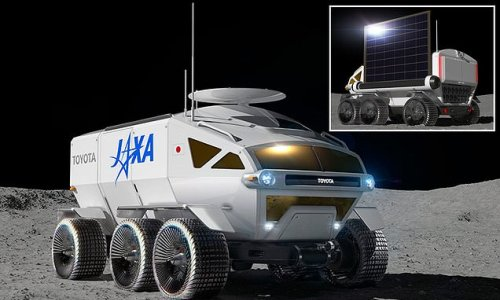 NASA teams with JAXA to design Toyota-made 'RV for the moon'