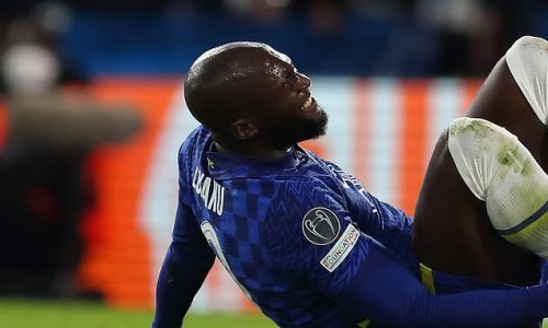 Chelsea striker Lukaku 'is facing a MONTH out with the ankle injury'
