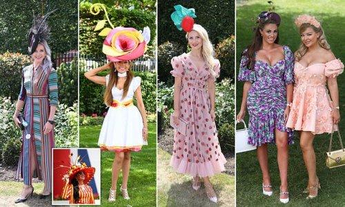 Ladies look glamorous tone as 12,000 revellers at Royal Ascot