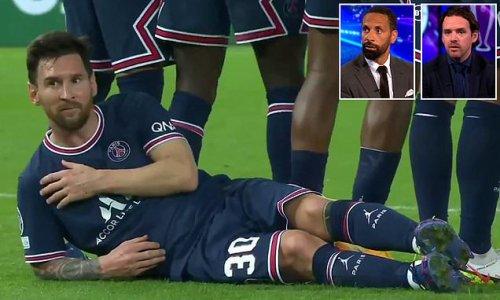 Rio Ferdinand shocked as PSG star lies down behind the wall