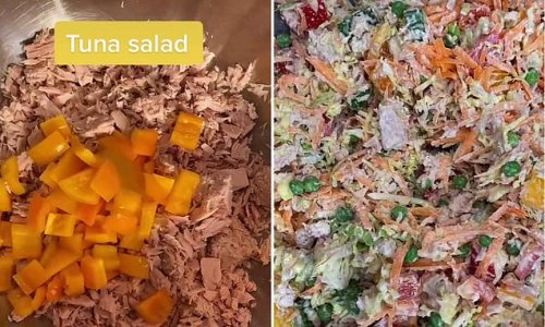 Foodie reveals his simple salad that lasts in the fridge for FOUR days