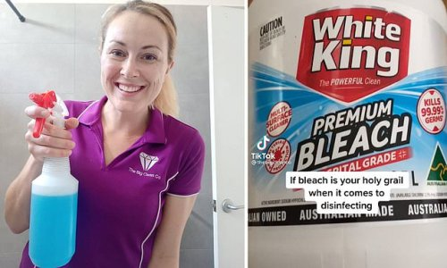 You're using it wrong: Cleaner's dangerous warning about bleach