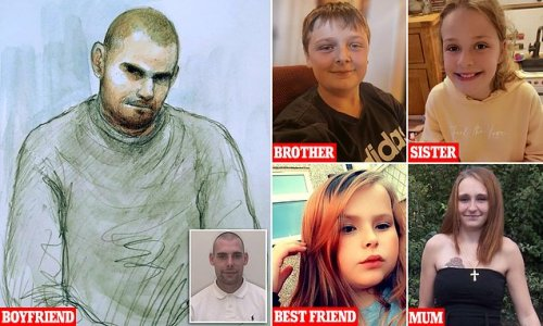 Four people killed at sleepover died as a result of a 'violent attack'