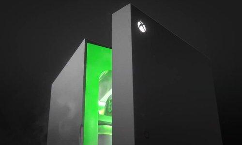Xbox is launching a Series X-style MINI FRIDGE