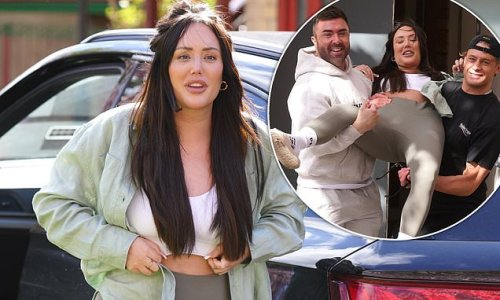 Charlotte Crosby puts on an animated display in Newcastle