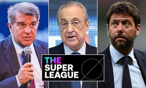 Barcelona, Juventus and Real Madrid vow to continue Super League plans