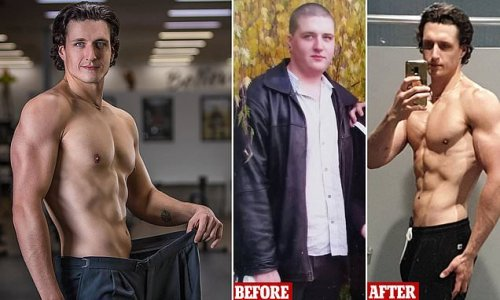Man who weighed 143kg reveals how he dropped 60kg in just 13 months
