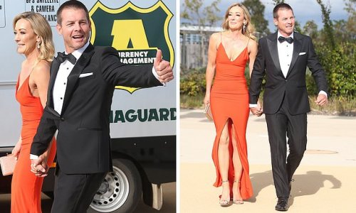 Ben Cousins arrives at Brownlow Medal count with mystery blonde